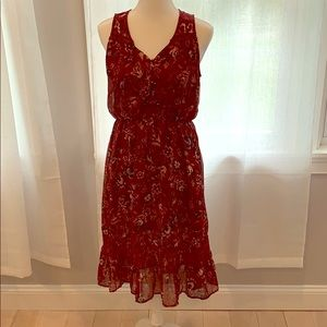 EUC Floral lace dress